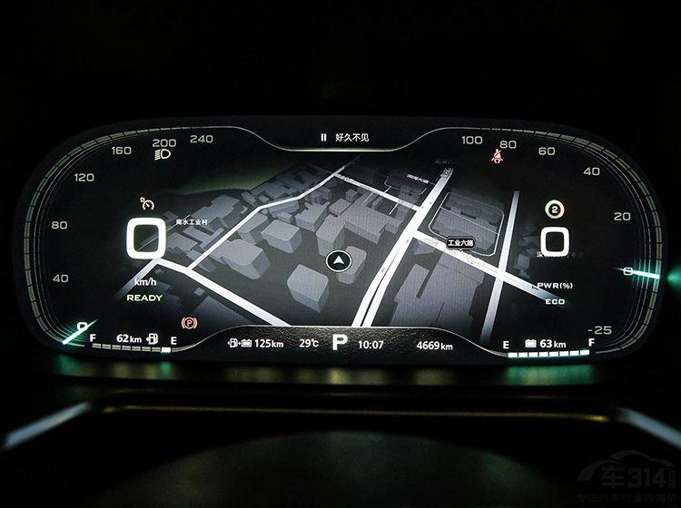 像长城c30,本田思域等,但是它们配备的仪表盘仅仅是液晶仪表盘,和全