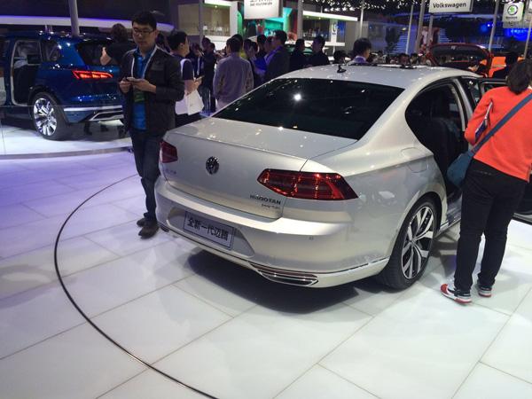 北京车展全新一代迈腾首发亮相 或7月上市