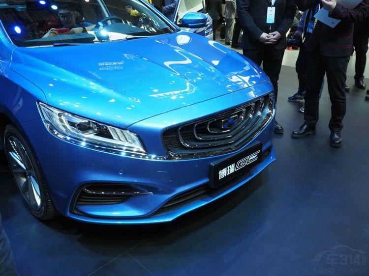 中国品牌首款48V轻混车 全新博瑞GE发布