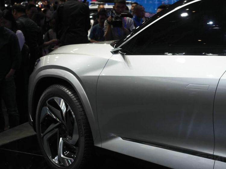 捷途全新概念车 比ES8帅量产后肯定大卖