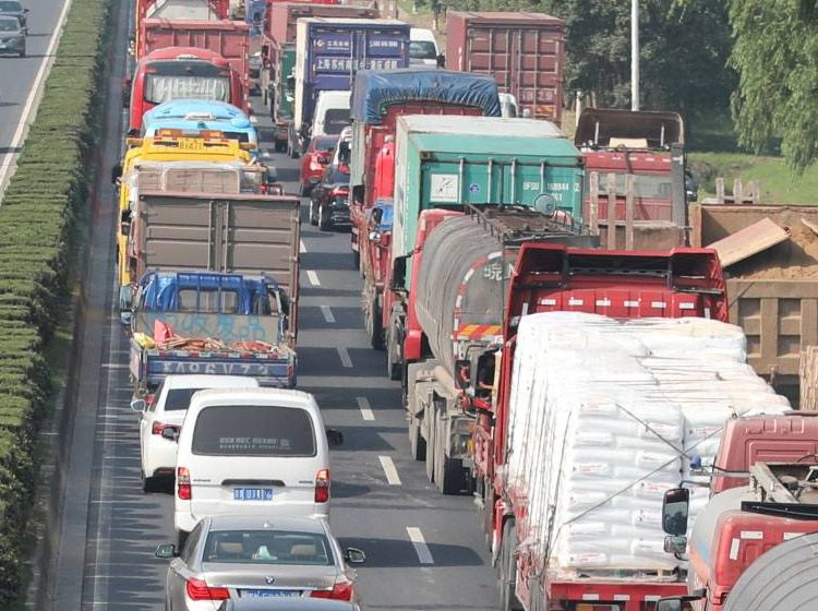 十一国庆高速最堵路段诞生:堵了113小时